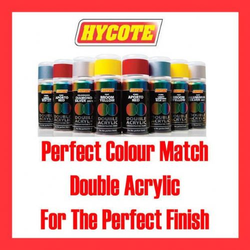 Hycote Spray Paint Fiat Silver Met 150ml